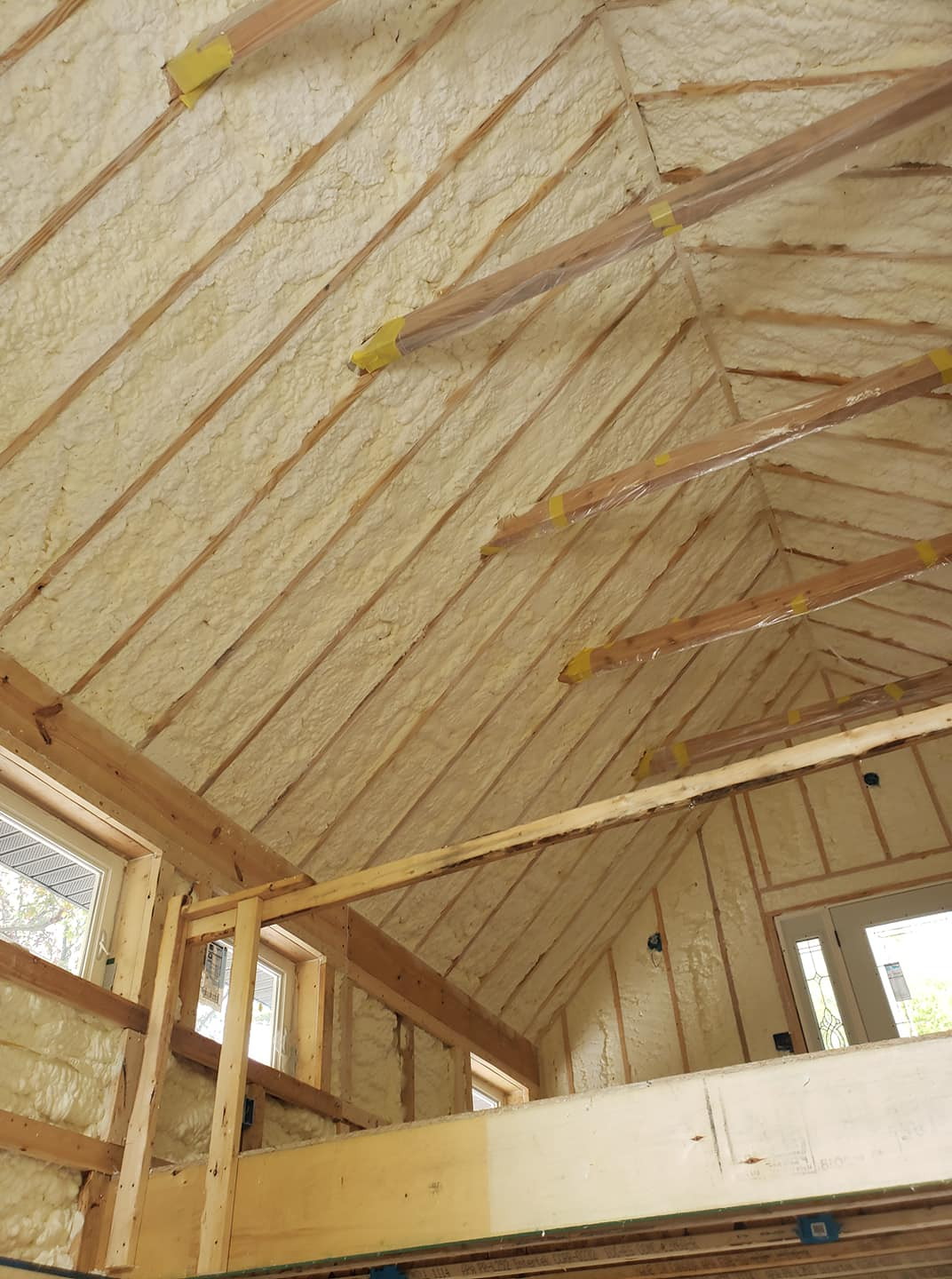 Open-cell Spray Foam Insulation Charleston, SC
